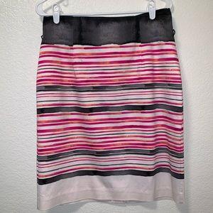 Worthington Stripe Color Skirt